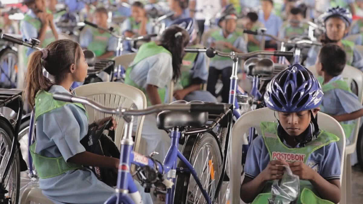 MENCIÓN ESPECIAL: Mi Bici Postobón, en ruedas hacia la esperanza
