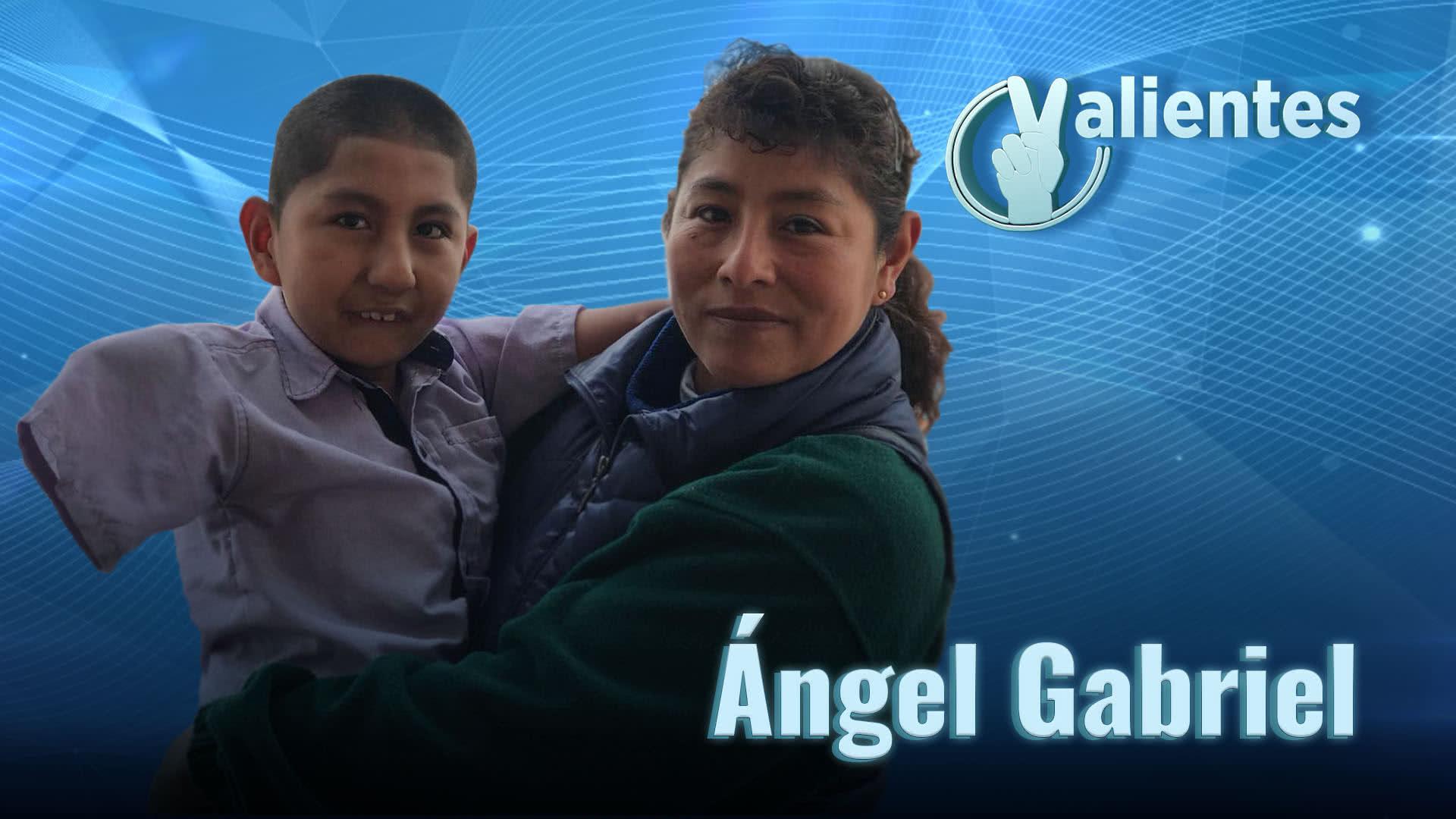 Ángel Gabriel, el ángel de Cusco que nació sin extremidades