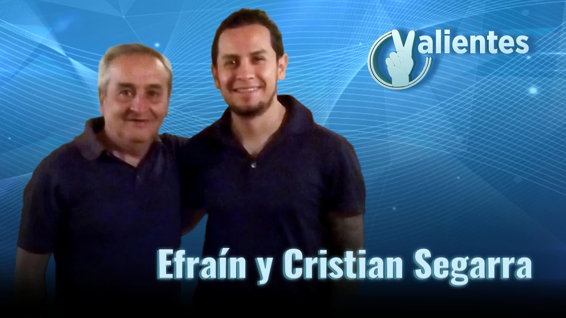 Efraín y Cristian Segarra: la partida del padre y guía de los periodistas