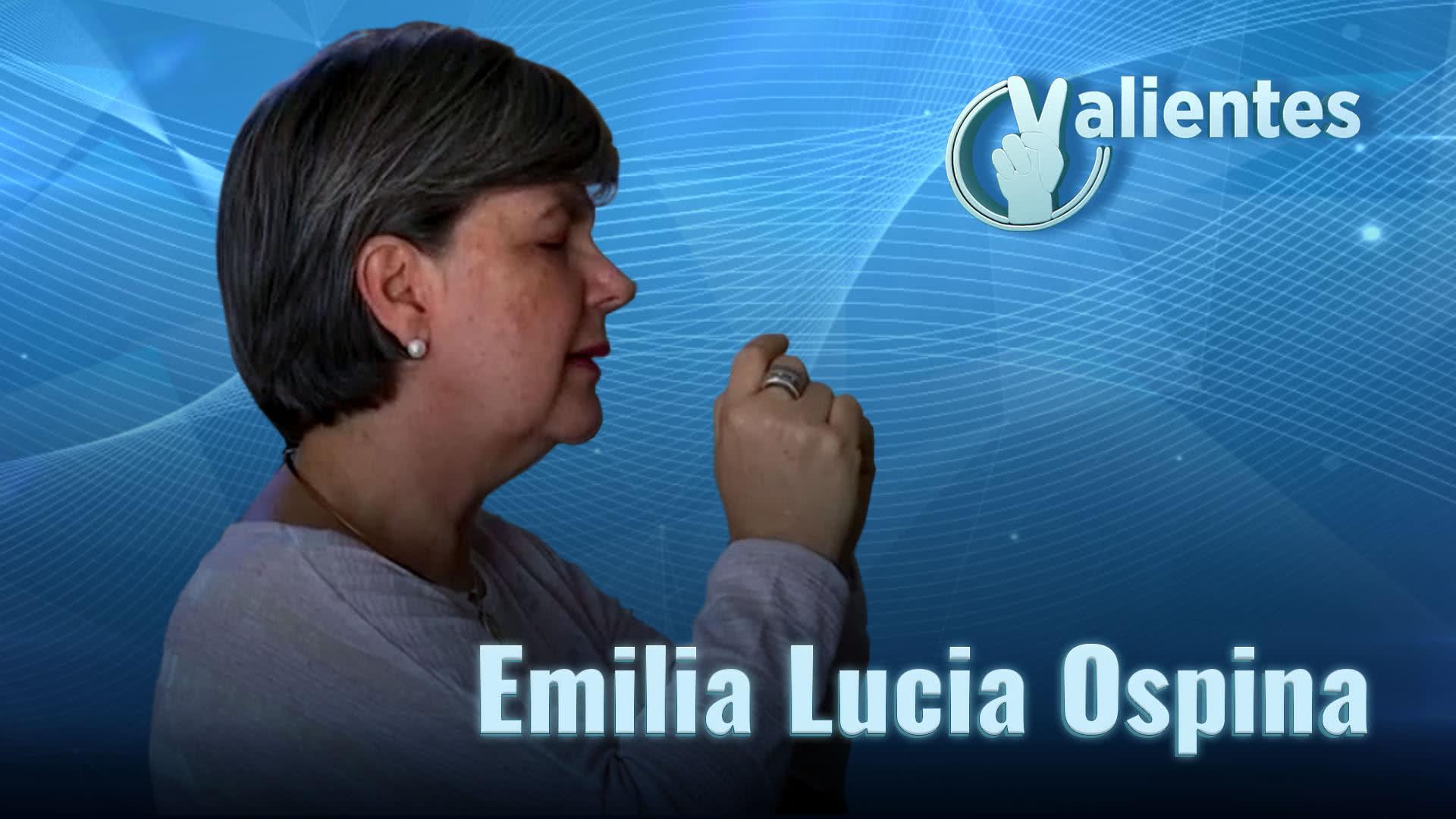 Emilia Lucía, una madre que perdonó al asesino de su hijo