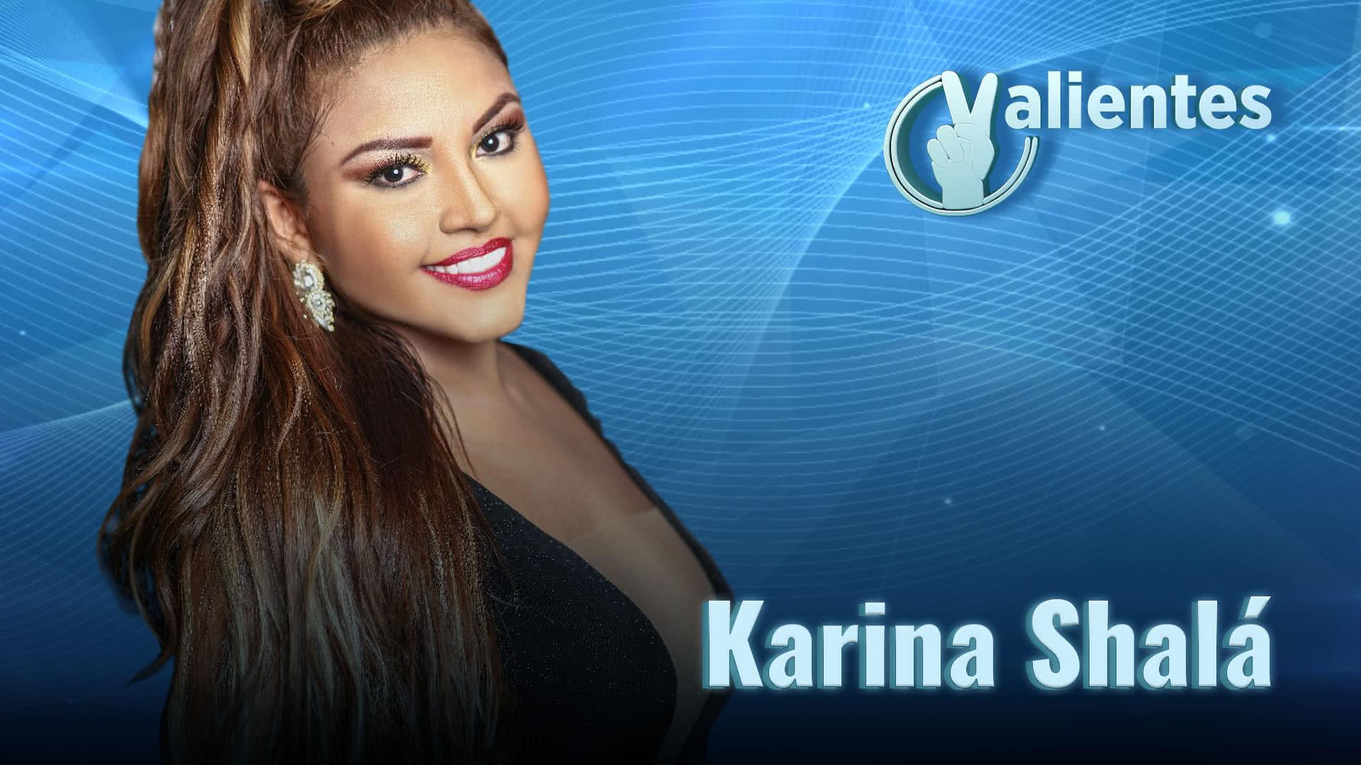 Karina, una artista que le canta a la vida