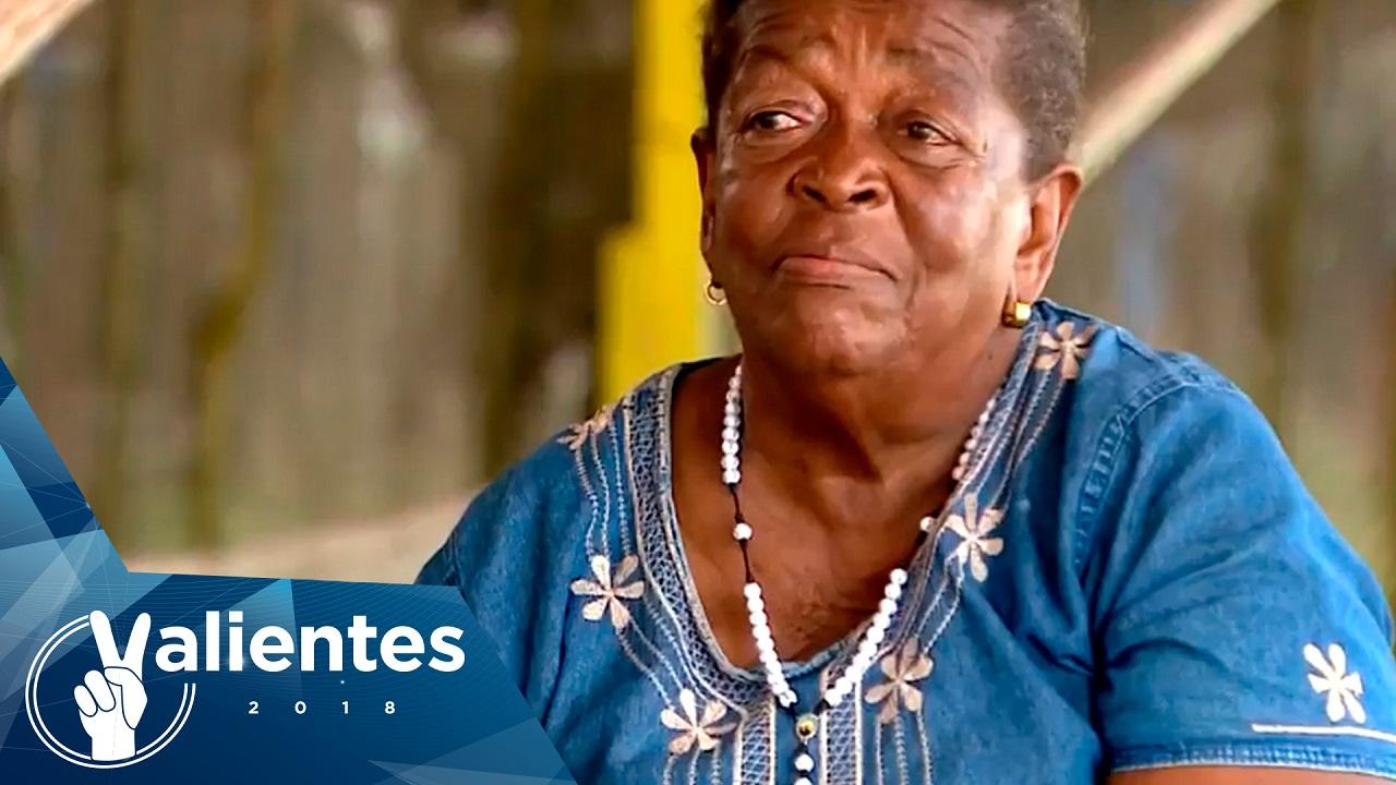 Lorenza, una líder comunitaria en Cartagena