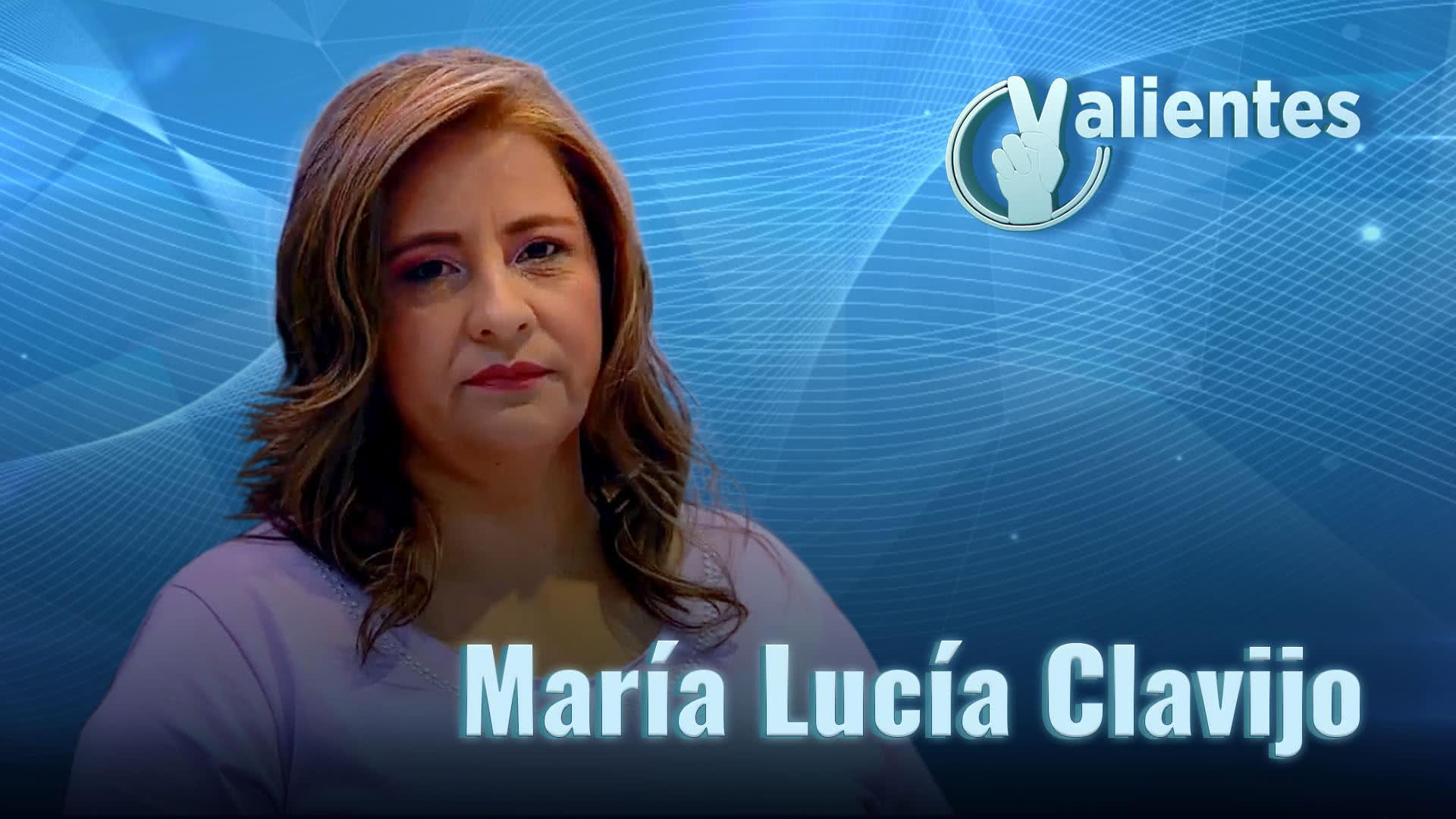 María Lucía, una luchadora por la vida y el bienestar de su hijo