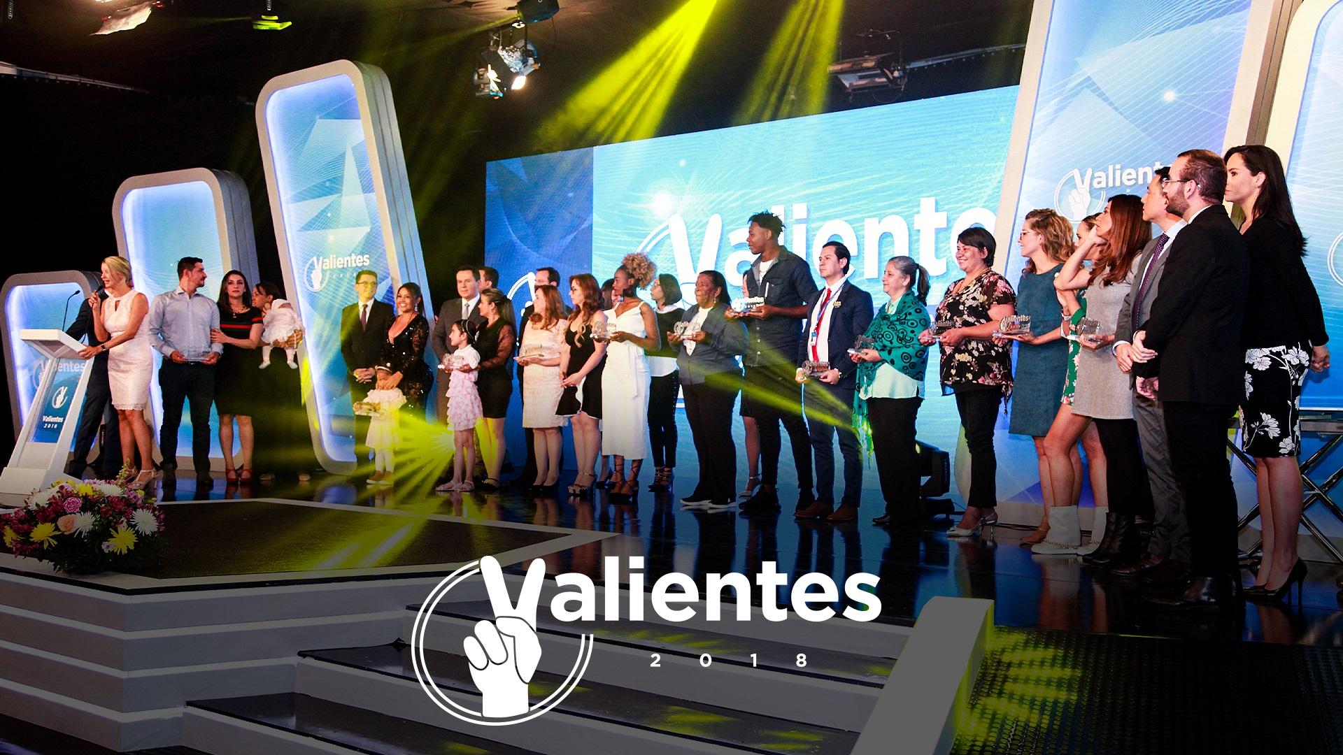 Ceremonia de premiación Valientes RCN 2018