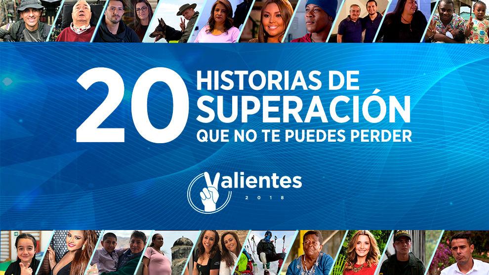 Conozca a los 20 protagonistas de Valientes RCN 2018