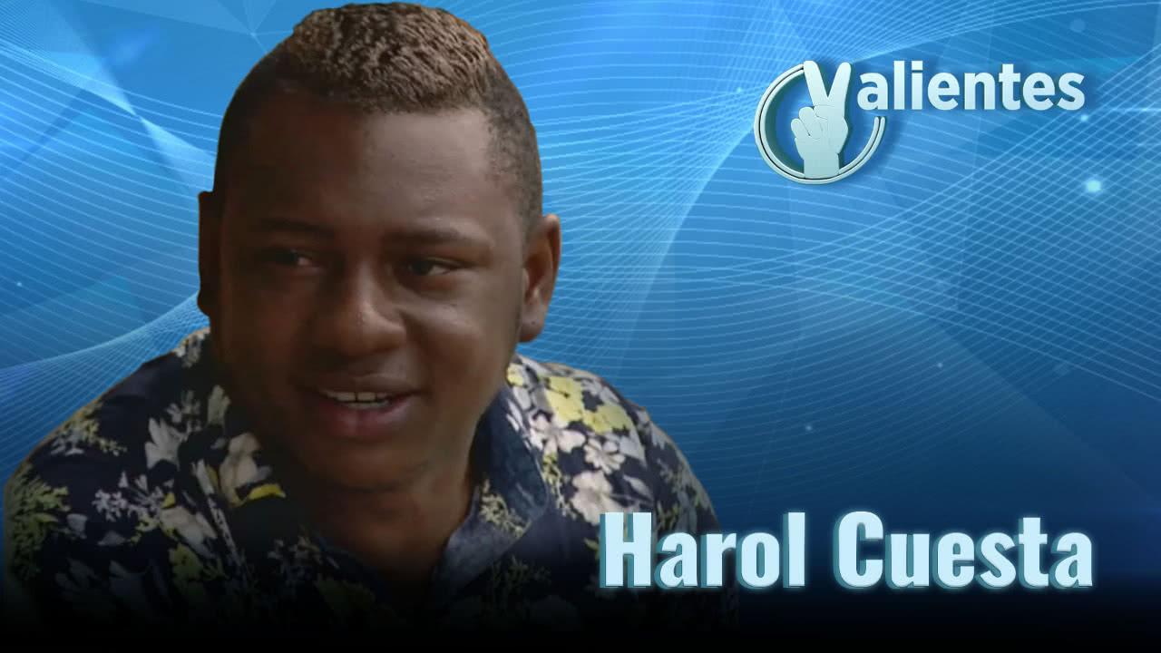 Harol, de líder delincuencial a pacificador y artista
