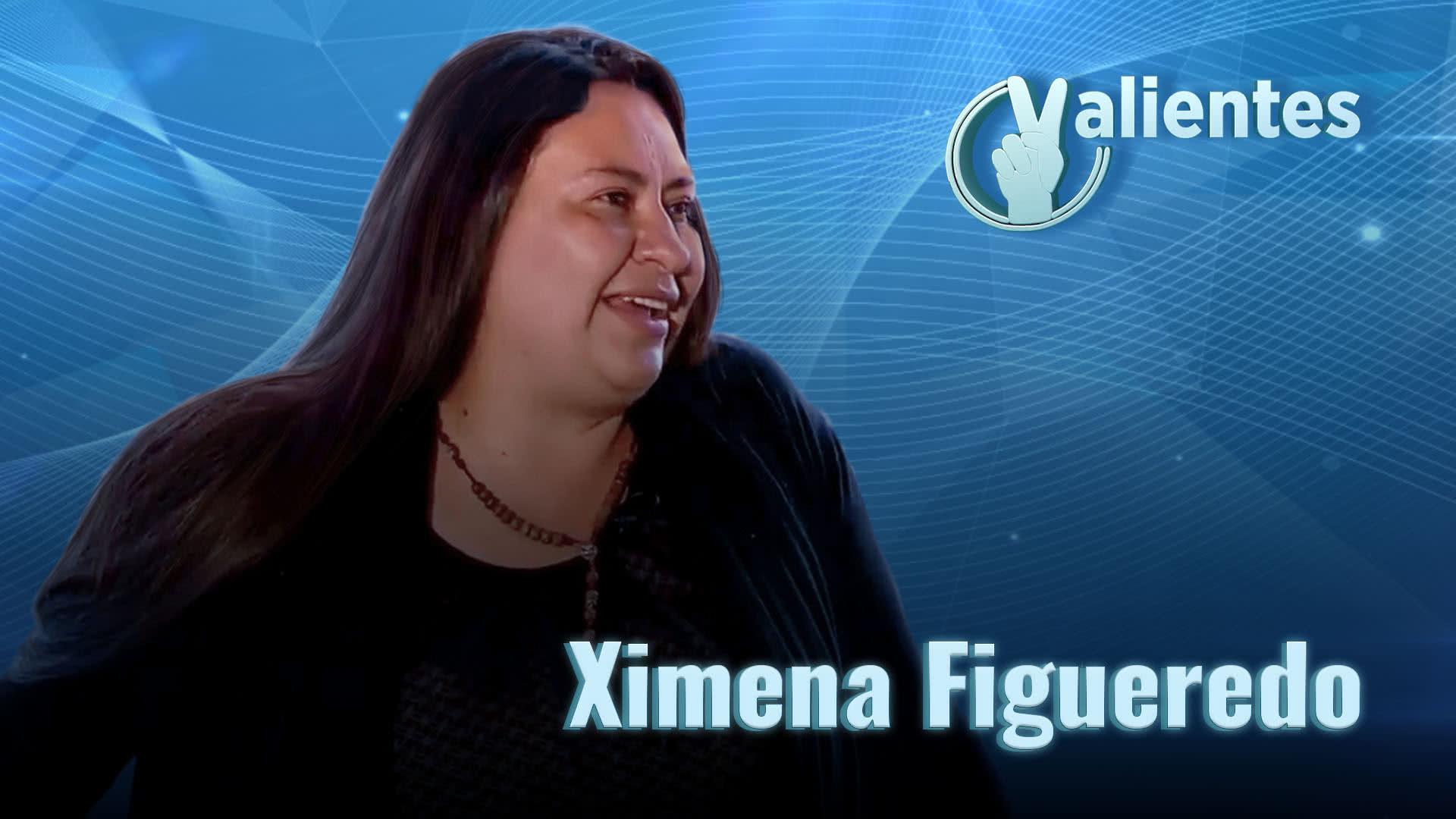 Ximena, una mamá valiente y ejemplar que vence limitaciones