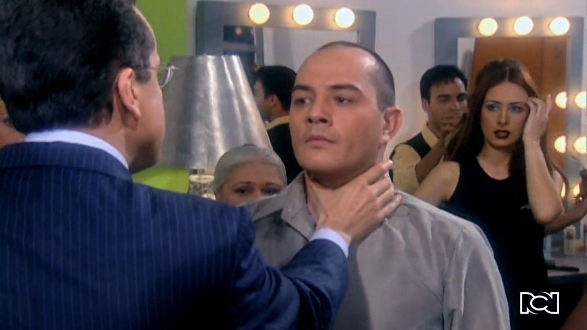 La fuerte discusión entre Armando y Hugo Lombardi