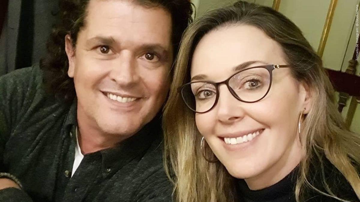 Claudia Elena Vásquez y Carlos Vives.