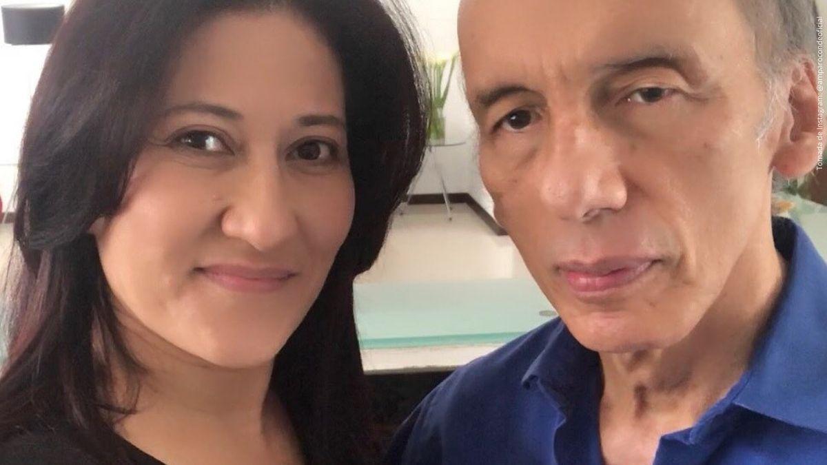 Jorge Herrera y su esposa, Amparo Conde.