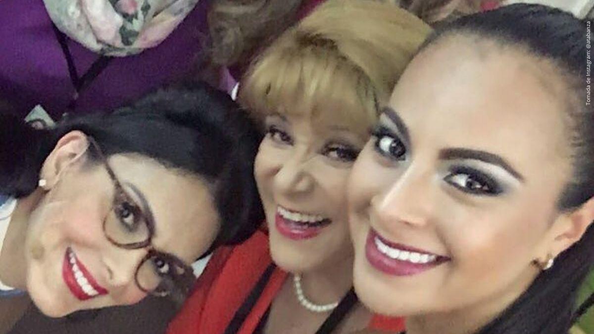 Marcela Posada, Paula Peña y Estefanía Gómez.