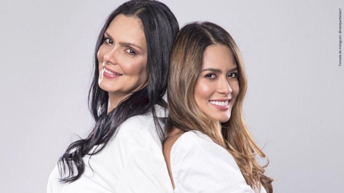 Marcela Posada y Nataly Arbeláez.