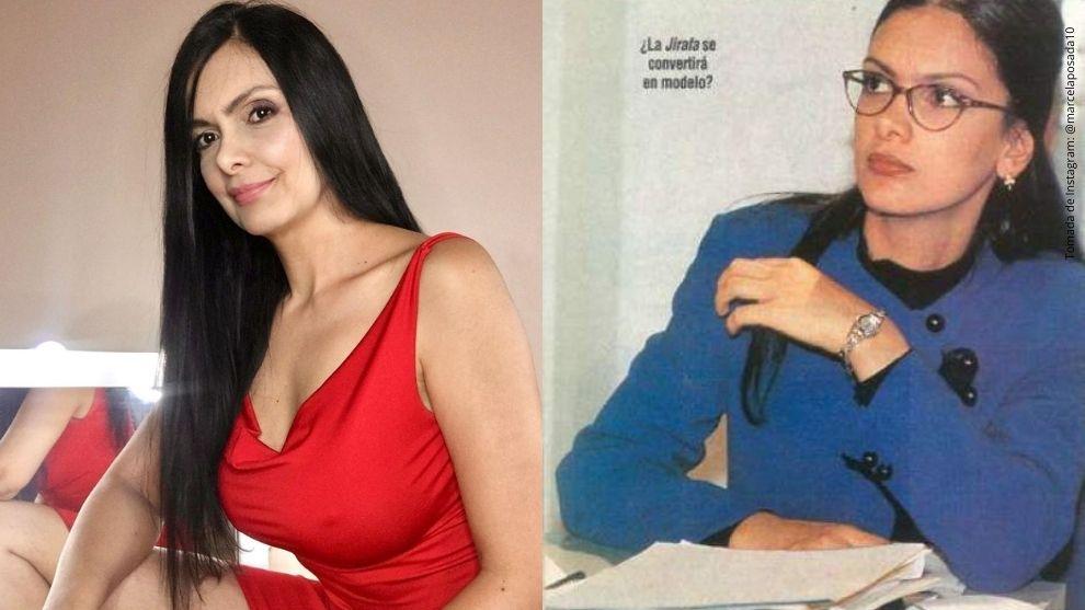 Marcela Posada y La Jirafa de Yo soy Betty, la fea.