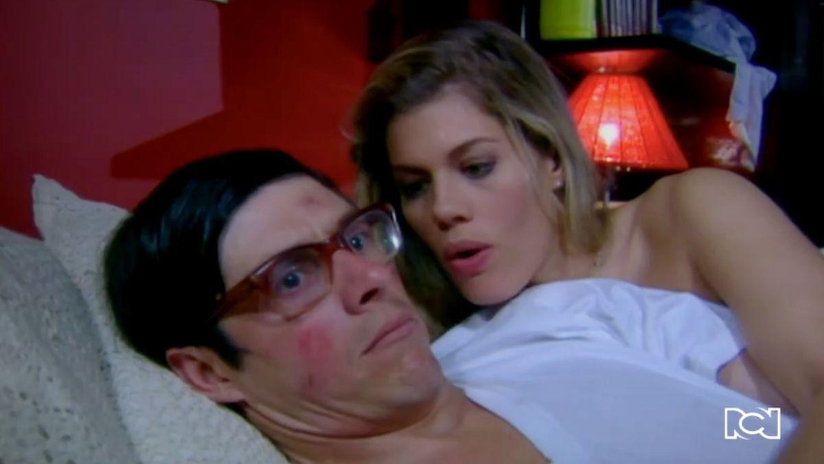 Nicolás y Patricia viven una apasionada noche