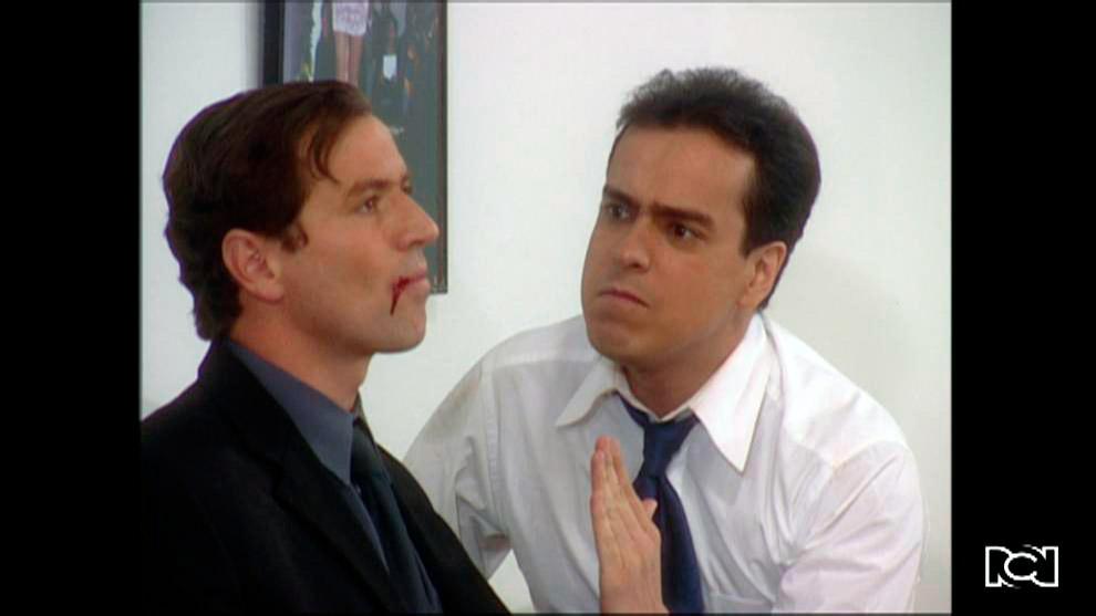 Armando y Mario discuten fuertemente