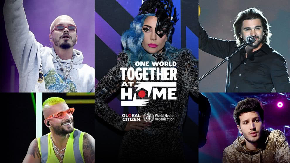 "Así se vivió el gran concierto ""One World: Together At Home"""