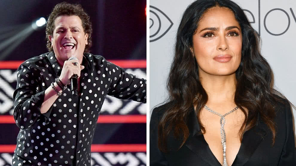 carlos-vives-salma-hayek-video-afp