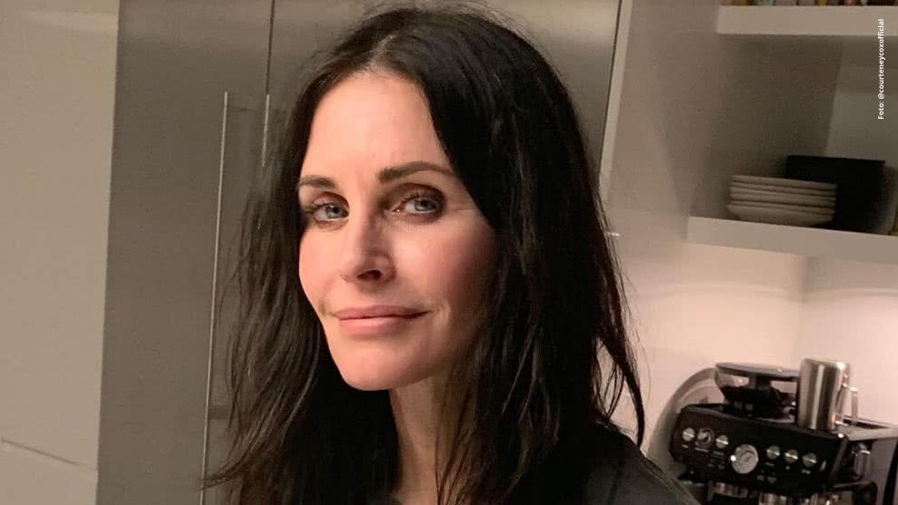 Courteney Cox es Monica Geller en 'Friends'