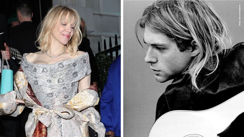 Courtney Love y Kurt Cobain