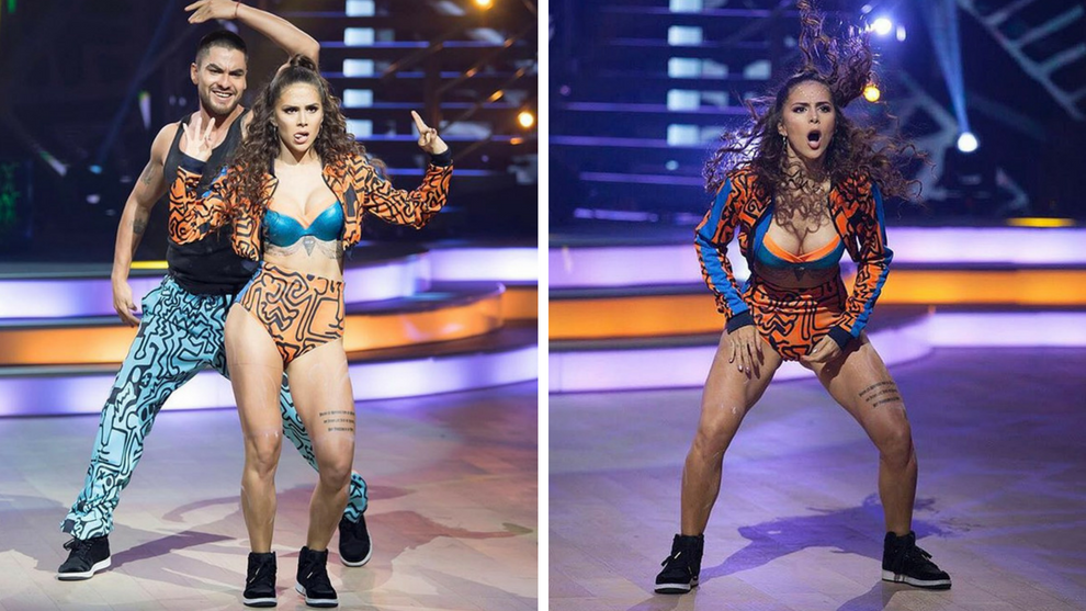 Greeicy Rendon Bailo Como Shakira En Un Reality Mexicano