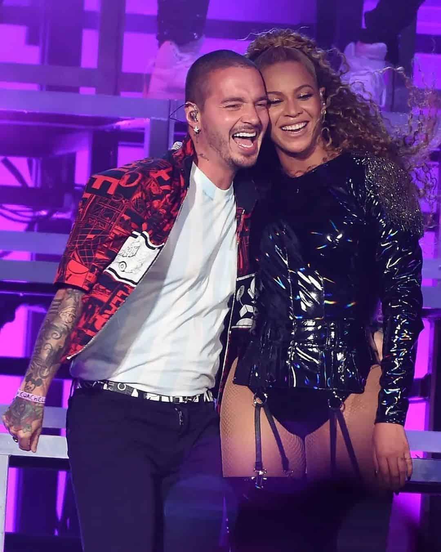 Balvin y Beyoncé