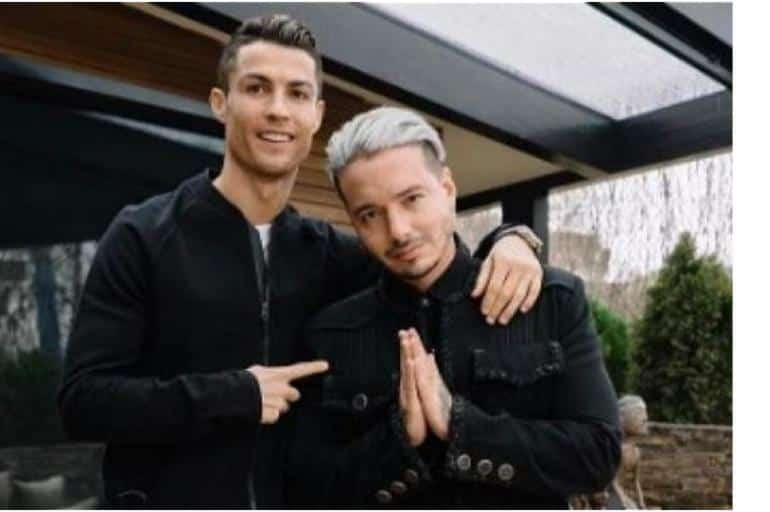 Balvin y Cristiano