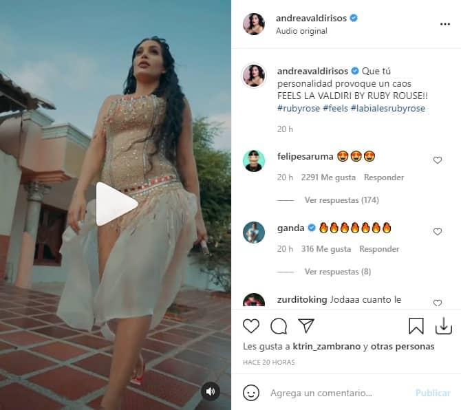 Andrea Valdiri Provoca caos 1