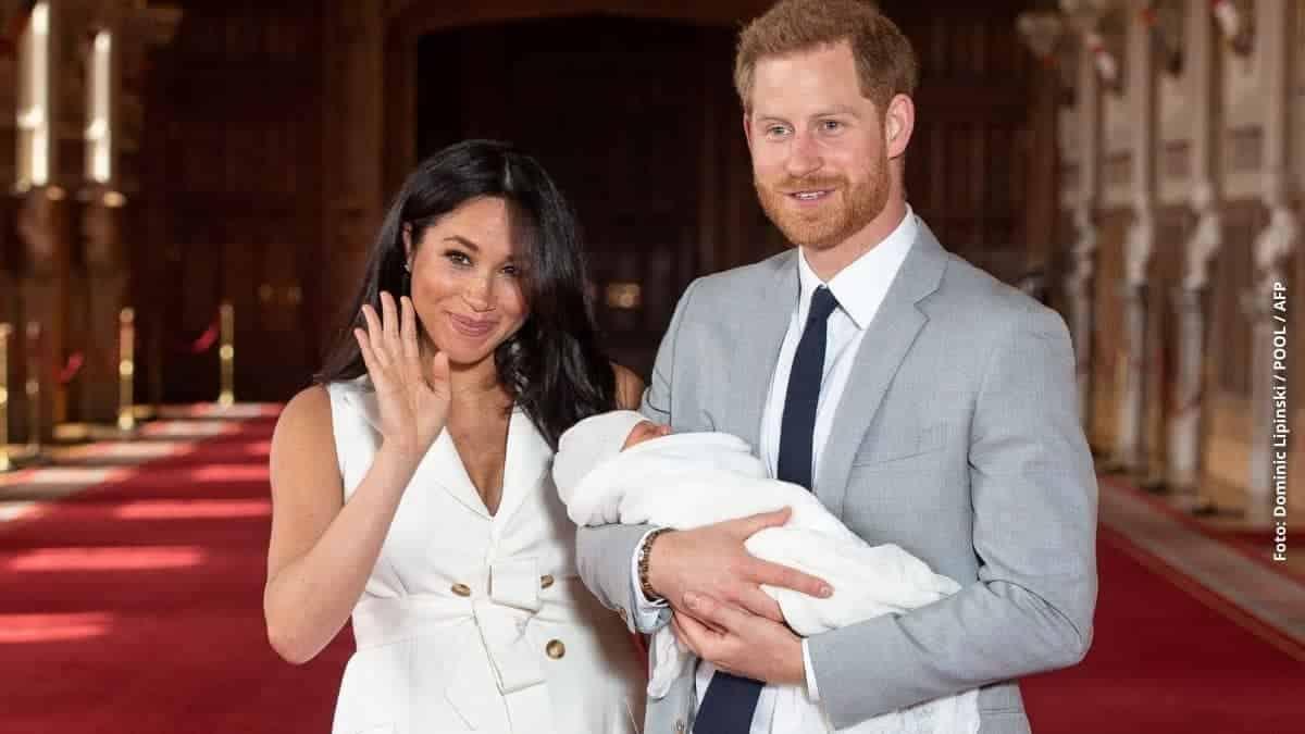 Archie, primer hijo de Meghan y Harry.