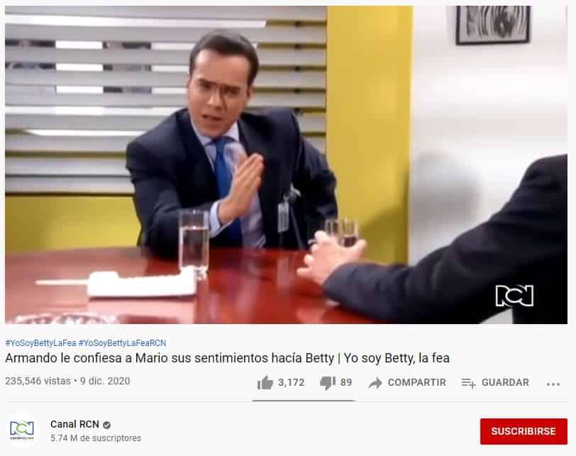 Armando le confiesa a Mario sus sentimientos hacía Betty