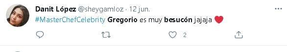 Besucón Gregorio