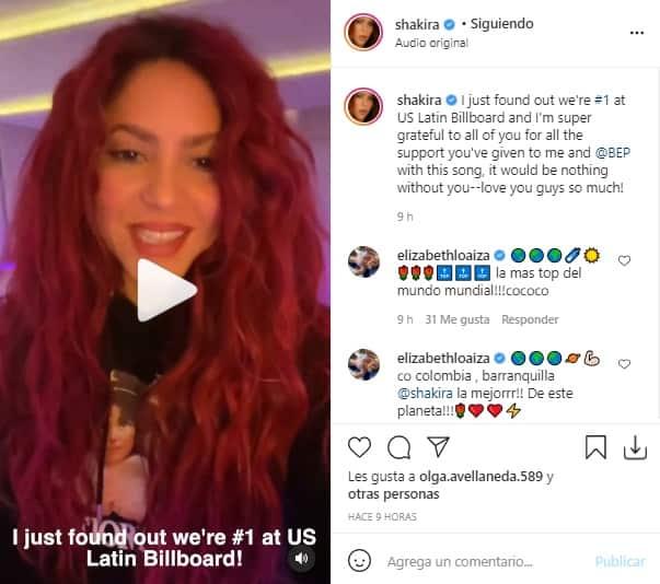 Billboard Shakira Black Eyed Peas 2
