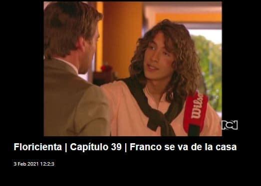 Carlos Torres en Floricienta