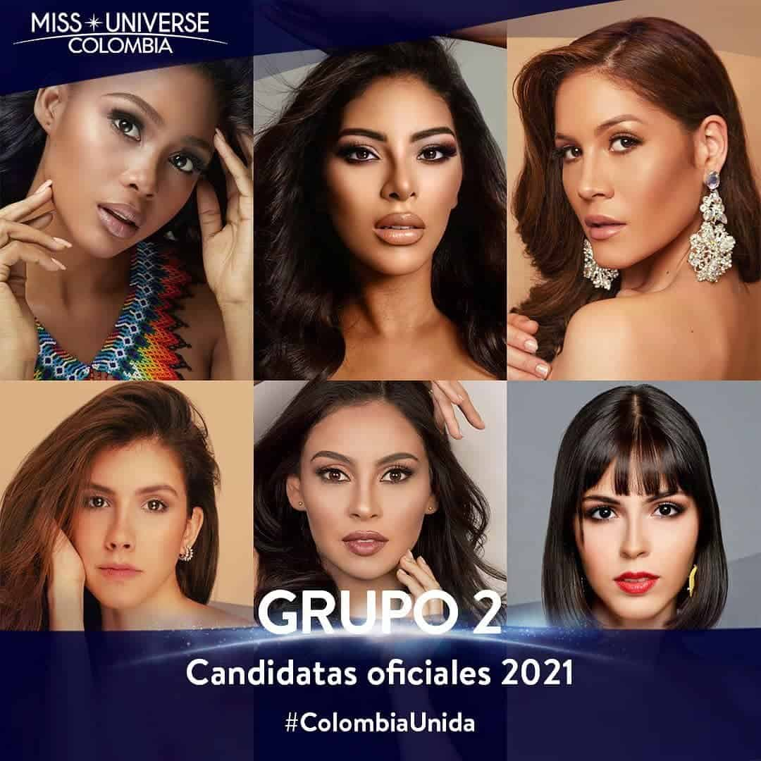 Candidatas Miss Universe Colombia 2