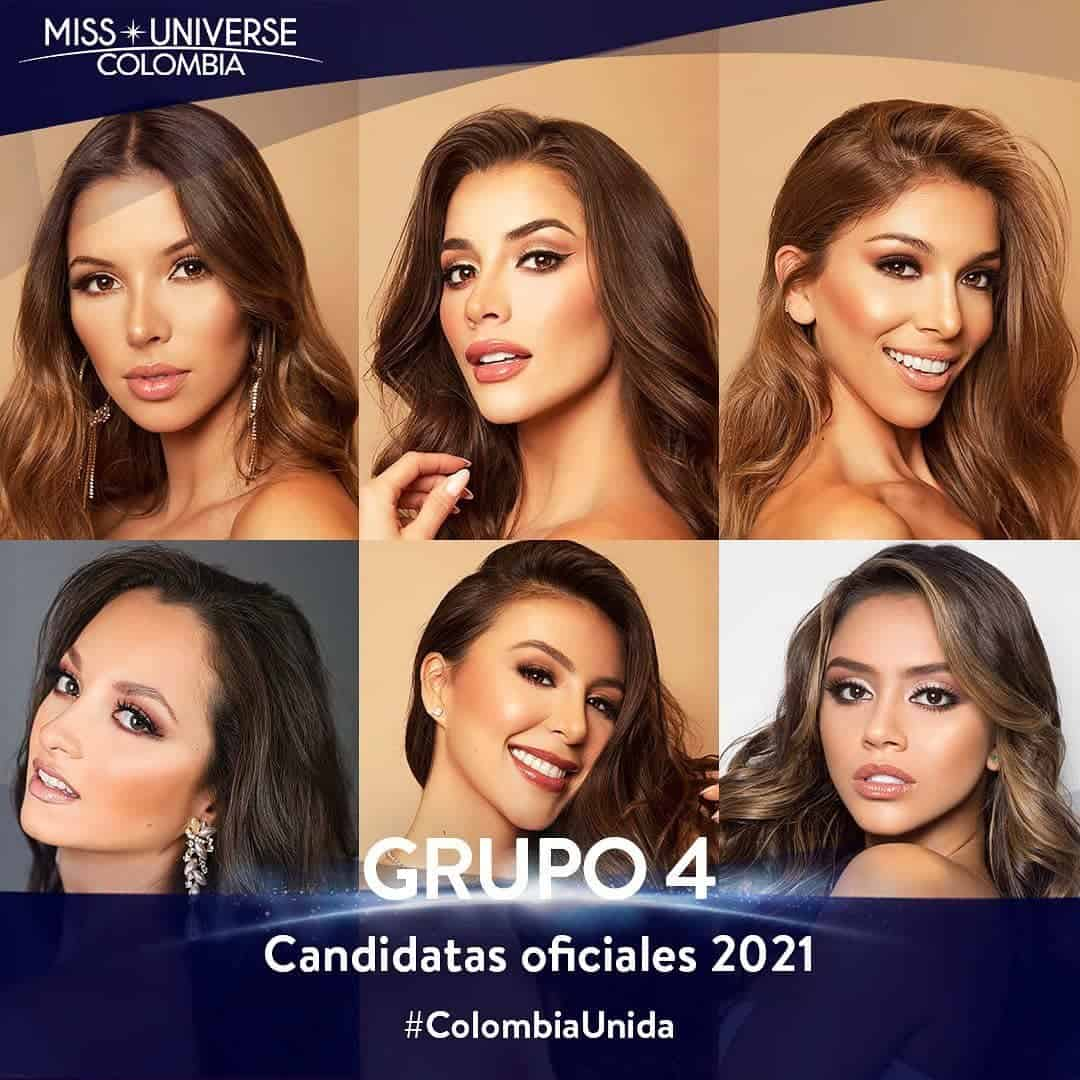 Candidatas Miss Universe Colombia 4