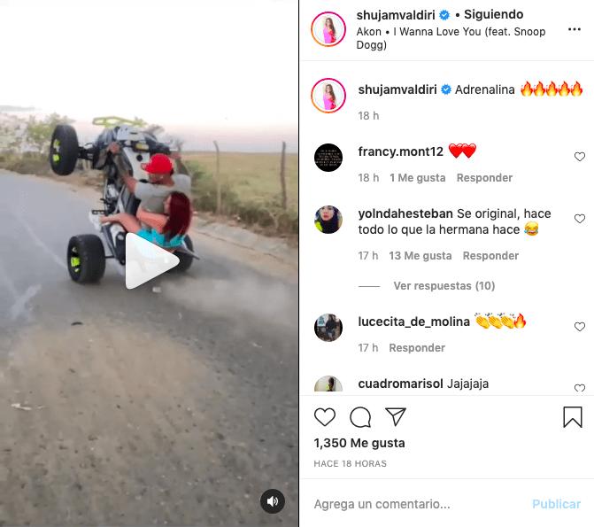 Por video, piden a hermana de Andrea Valdiri no copiarse de la famosa