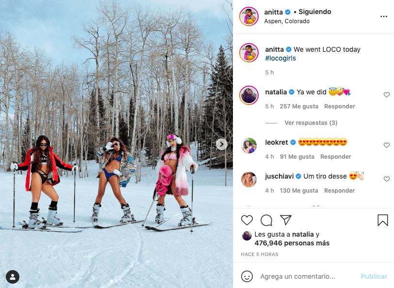 Letra de 'Loco', el nuevo sencillo de la cantante brasileña, Anitta