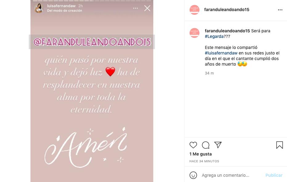Luisa W y el posible mensaje a Legarda en su segundo año de fallecido