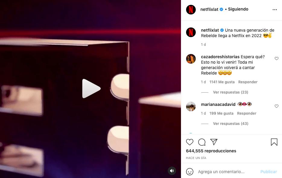 Netflix confirma nueva temporada de Rebelde y con talento colombiano
