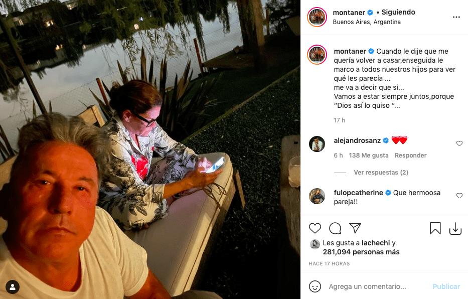 Ricardo Montaner sorprende con nueva pedida de mano a su esposa
