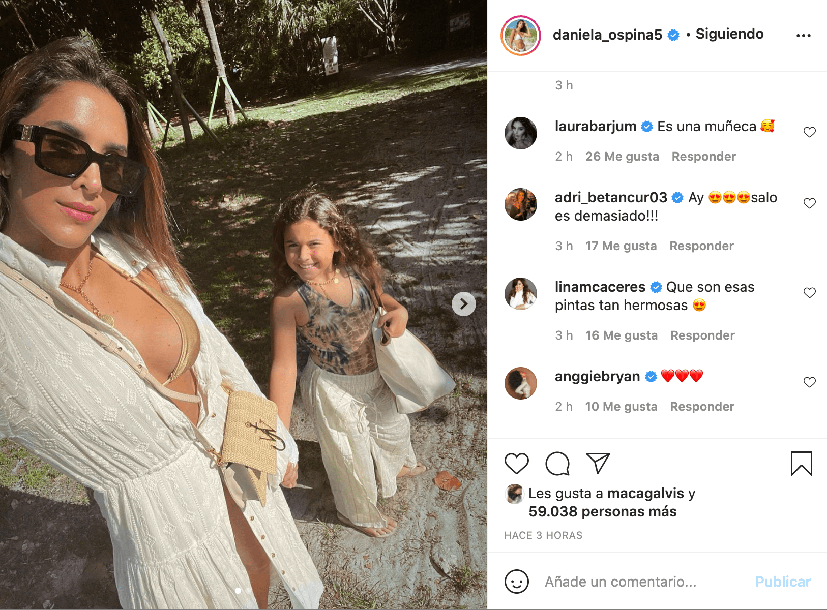Daniela Opina mensaje a Salomé