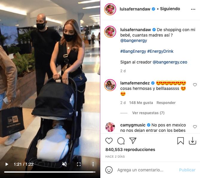 Luisa Fernanda W recibe fuertes críticas por tener guardaespaldas