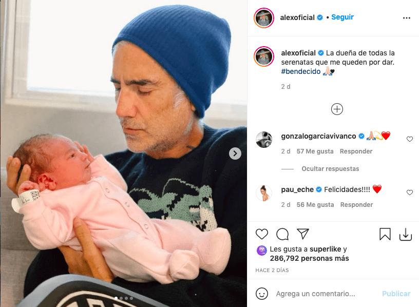 Alejandro Fernández mostró a la mujer que le robó su corazón días atrás