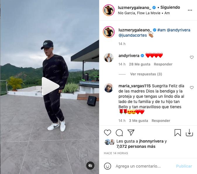 Andy Rivera deleita bailando reguetón con profesional coreografía