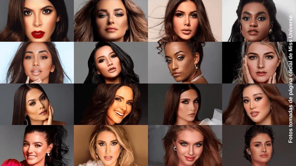 Lista de las participantes de Miss Universe 2021