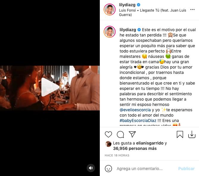 Hija de Diomedes Díaz revela que está embarazada