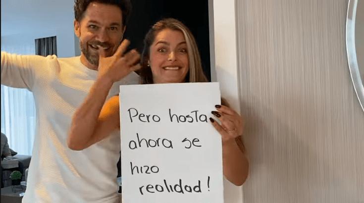 Cristina Hurtado mostró la reacción de sus hijos con su embarazo