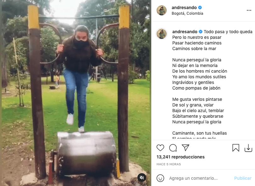 Andrés Sandoval enternece a fans tras hacer divertido juego con sus hijos