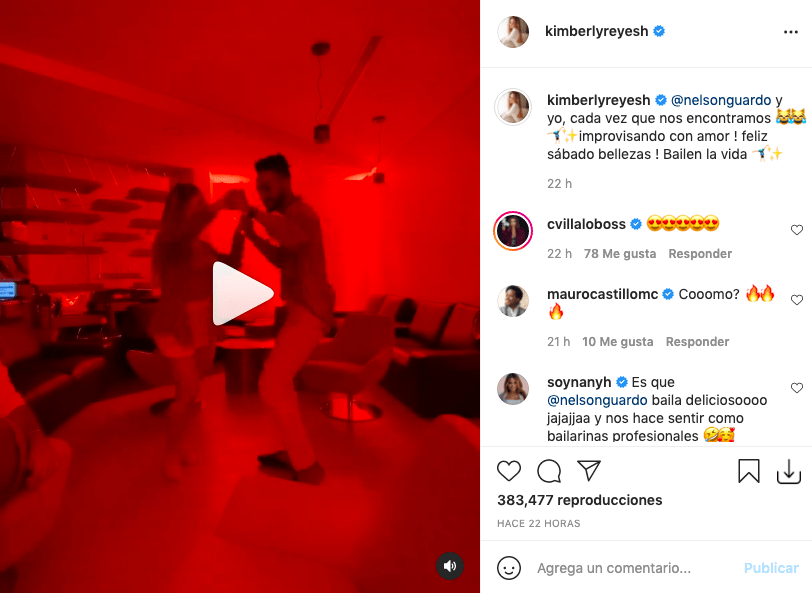 Kimberly Reyes sorprende bailando salsa como una bailarina profesional