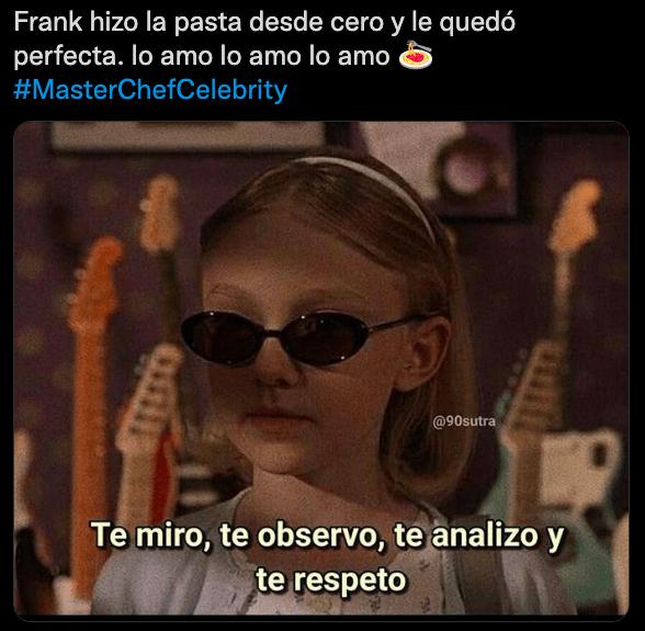 MasterChef: los memes que dejó la salvación de Frank y Pity