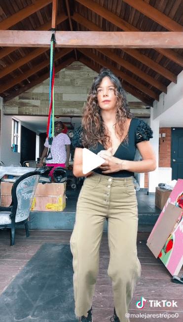 Maleja Restrepo bailó diferentes géneros y recibió varias críticas